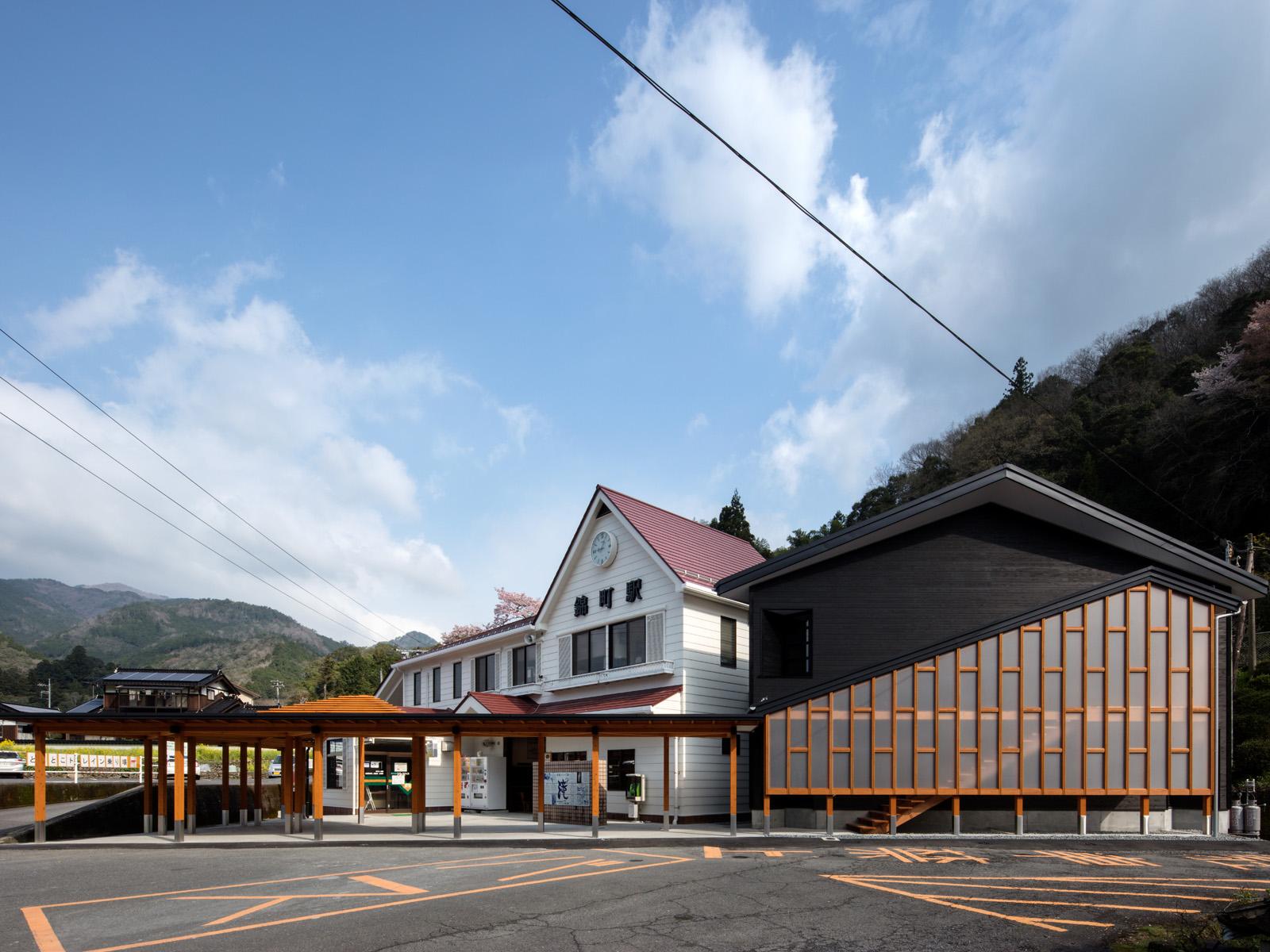 錦町駅・雙津峡温泉駅
