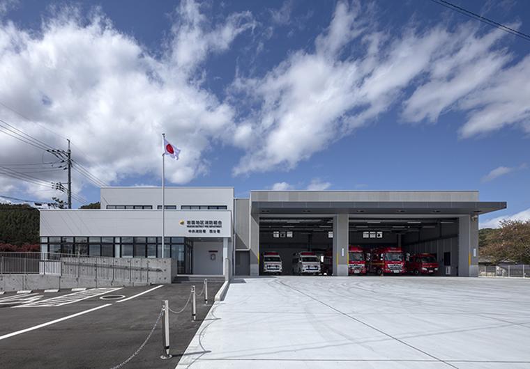 岩国地区消防組合 中央消防署 西分署